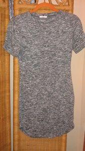 Kik women's gray mini sweater dress size large